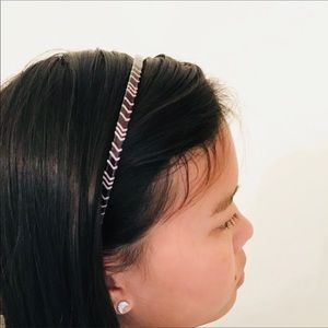 Missoni for Target Chevron Headband Black Gold